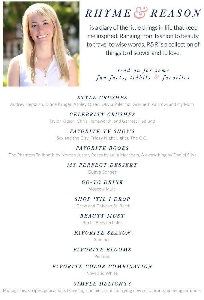 About Jillian Attaway, the blogger behind Rhyme & Reason