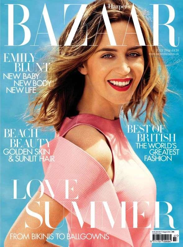 Emily Blunt for Harper's Bazaar July 2014