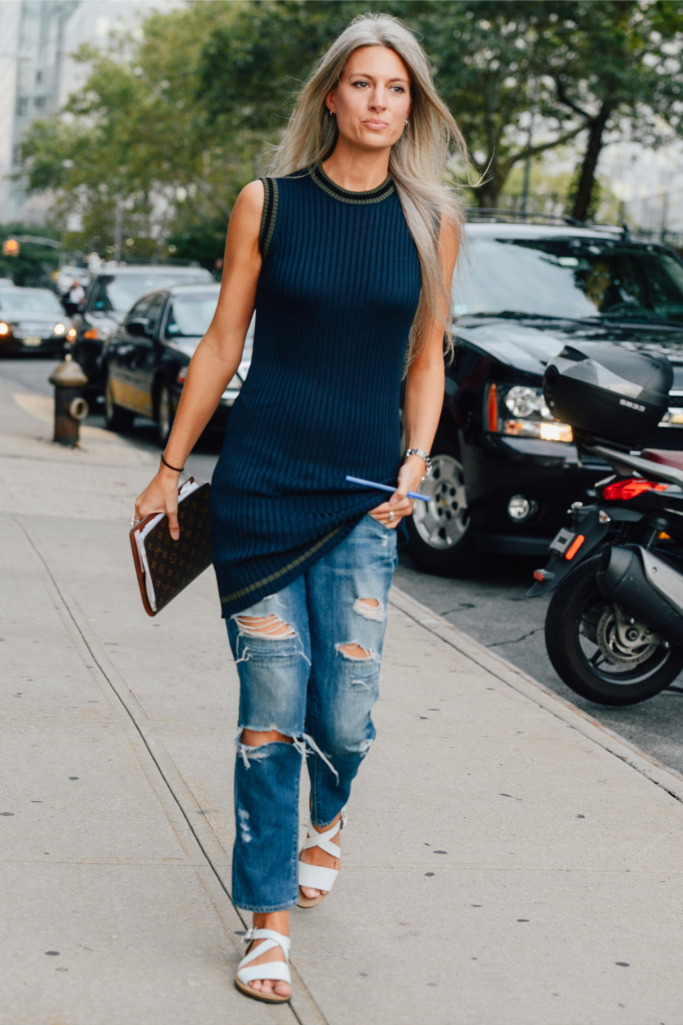 New york fashion week street style for Jugendzimmer new york style