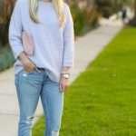 J.Crew Lilac Sweater