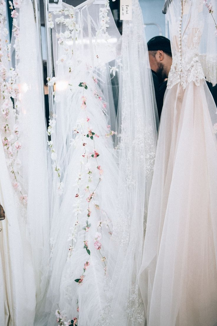 Backstage at The Reem Acra Fall 2015 Bridal Show 9