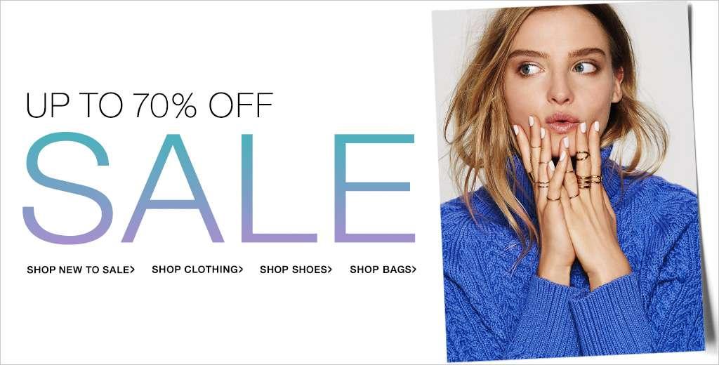 Shopbop 70% Off Sale