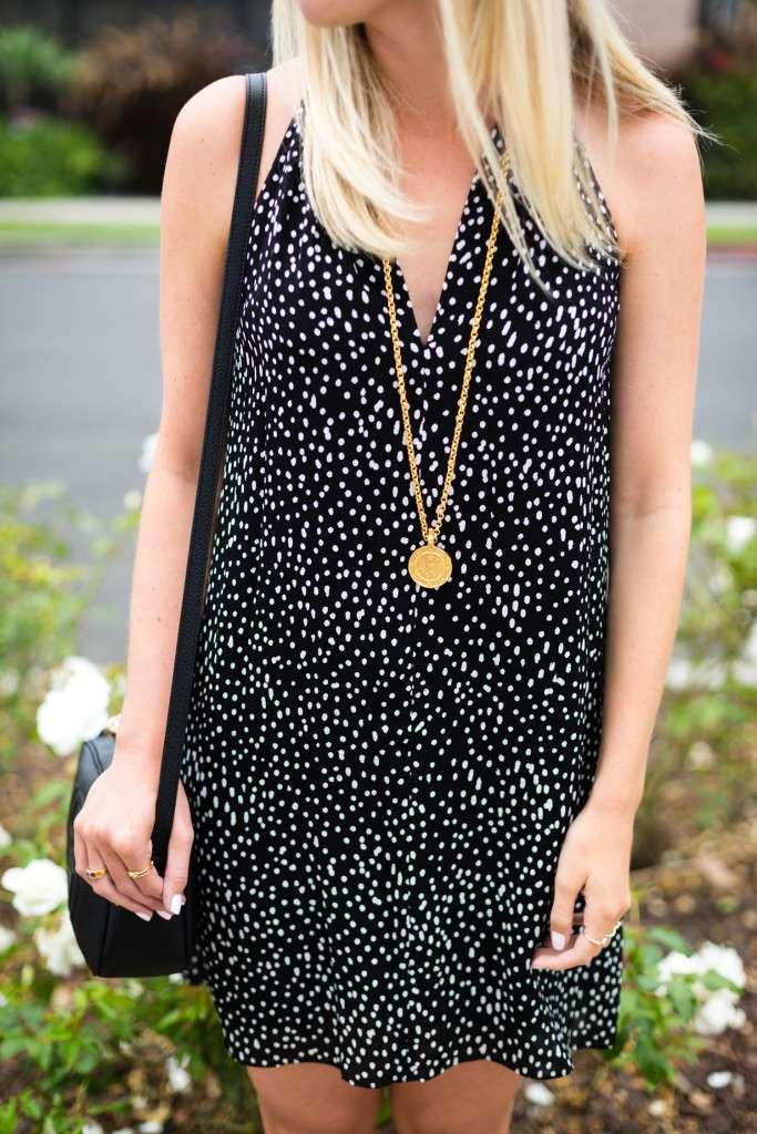 Rhyme and Reason Fashion Summer Little Black Dress
