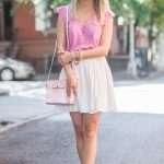 Pink Ruffle Top