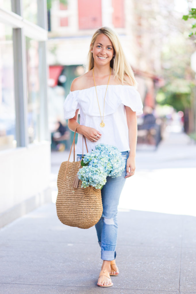 Off The Shoulder Top Rhyme Amp Reason