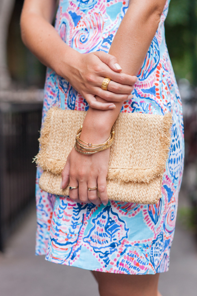 Lilly Pulitzer Shell Print Dress on Rhyme & Reason