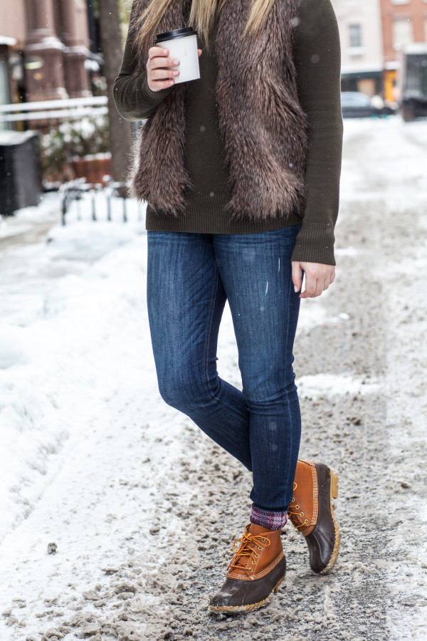 Cool L.L.Bean Boots In Mount Snow Vermont - Kelly In The City