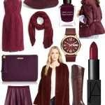 Wine-Colored Fashion