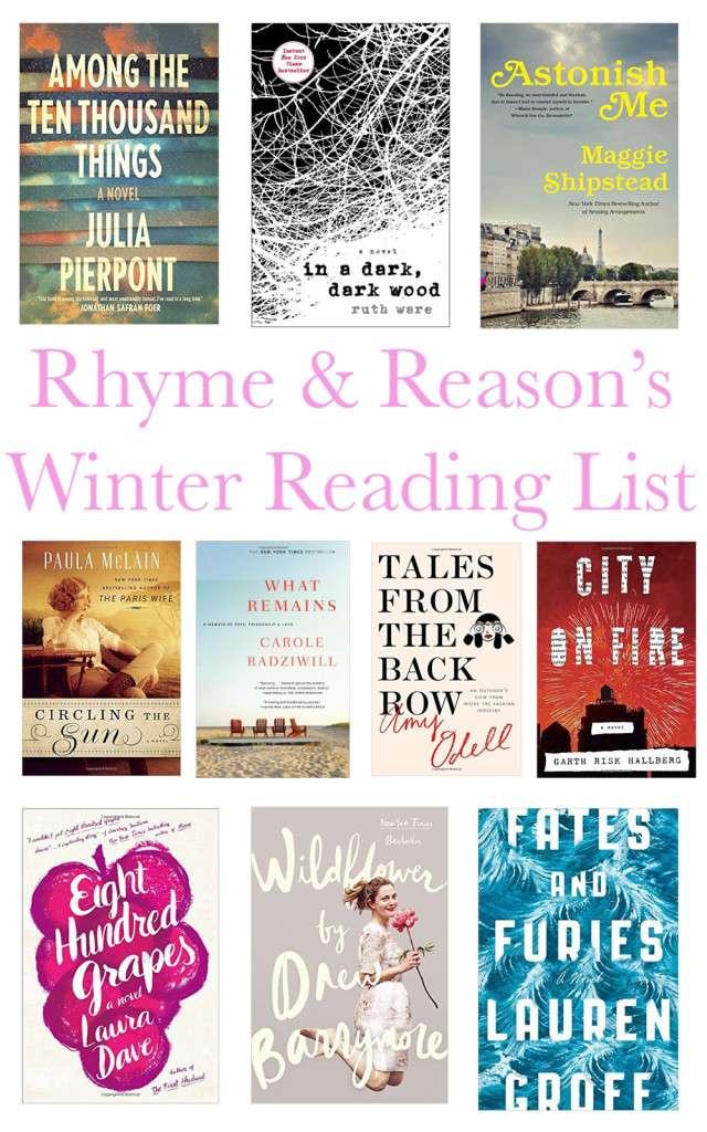 2015-2016 Winter Reading List On Rhyme & Reason Blog