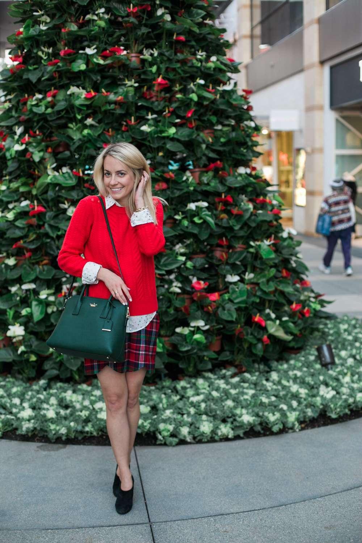 Plaid Holiday Skirt Rhyme Amp Reason