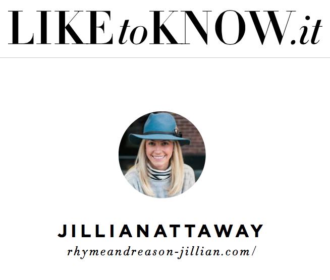 Jillian Attaway of Rhyme & Reason Fashion Blog LIKEtoKNOW.it Instagram Shopping Page 2
