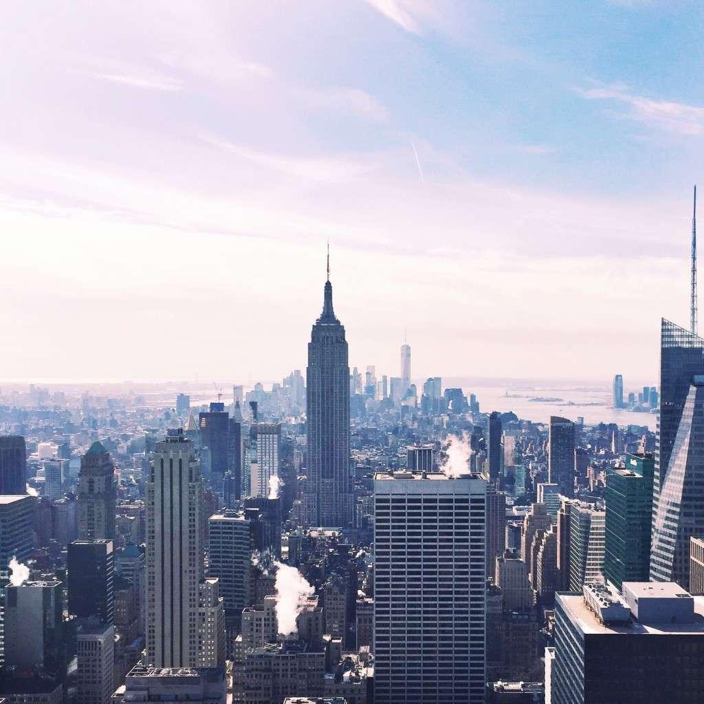 NYC Skyline on Rhyme & Reason Fashion Blog