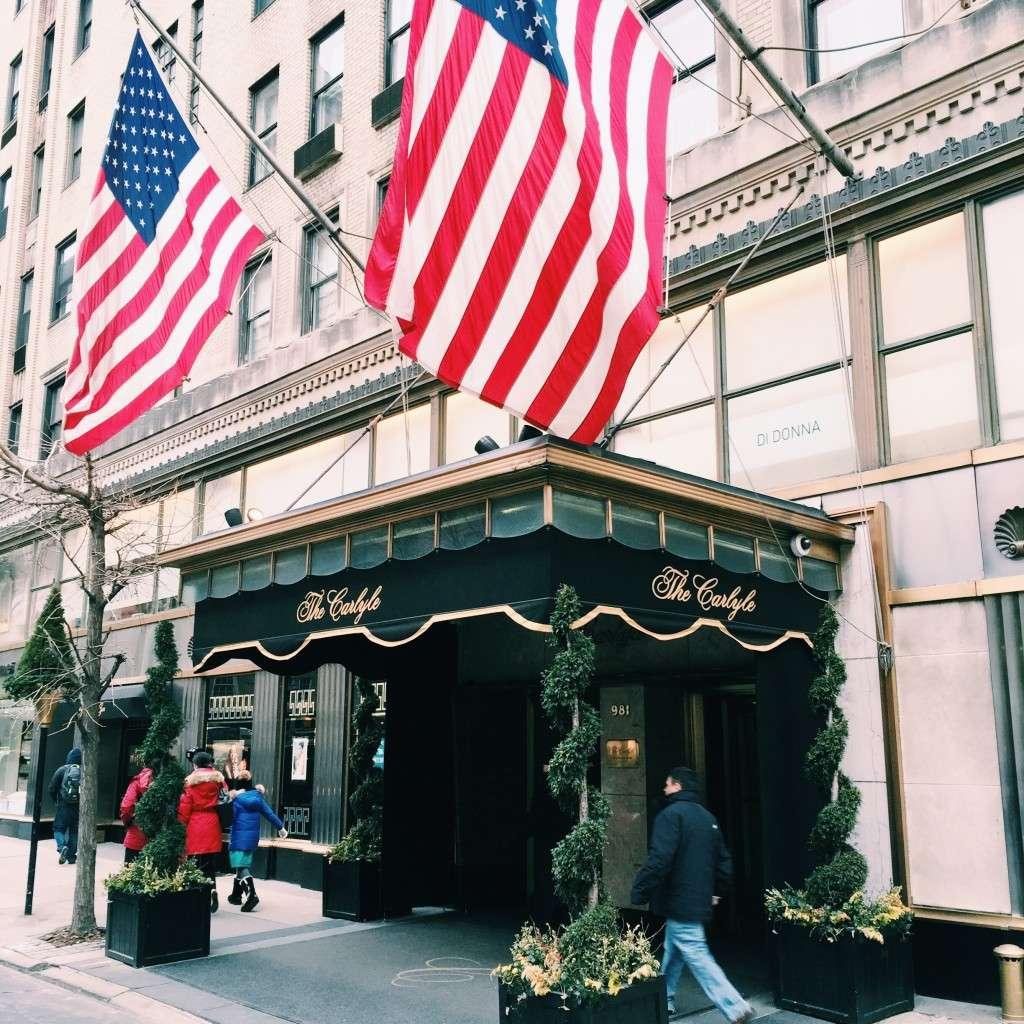 The Carlyle Hotel NYC on Rhyme & Reason Fashion Blog