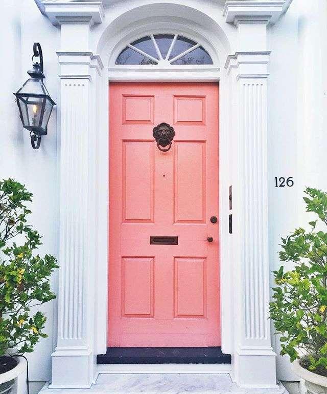 Charleston Pink Door by Rhyme & Reason | Happy April + Highlights