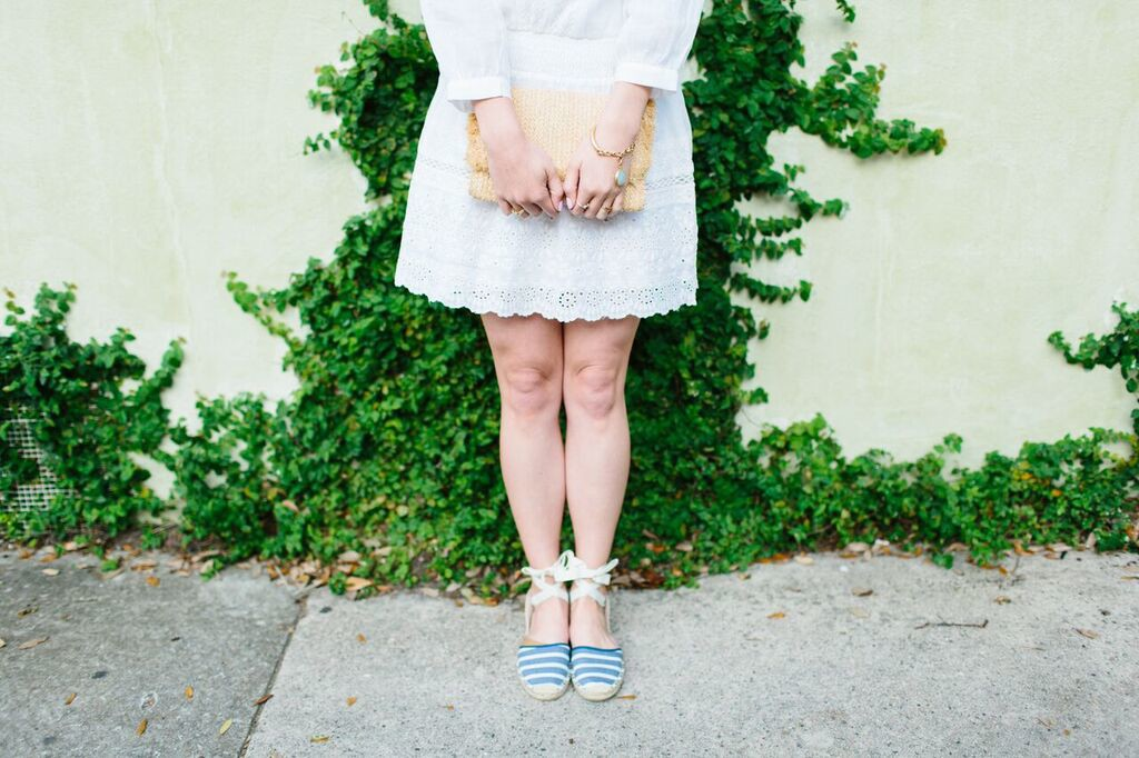 Joie White Sundress on Rhyme & Reason Fashion Blog