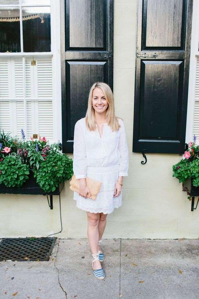 Joie White Sundress on Rhyme & Reason Fashion Blog