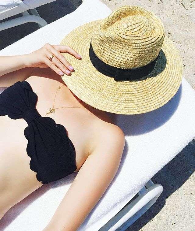 Miami Beach Sunhat on Rhyme & Reason Fashion Blog