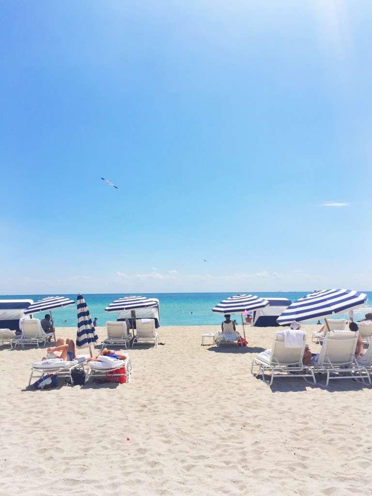 Miami Beach Umbrellas on Rhyme & Reason Fashion Blog