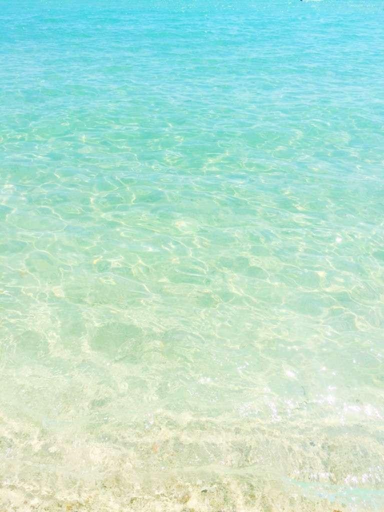 Miami Beach Water on Rhyme & Reason Fashion Blog