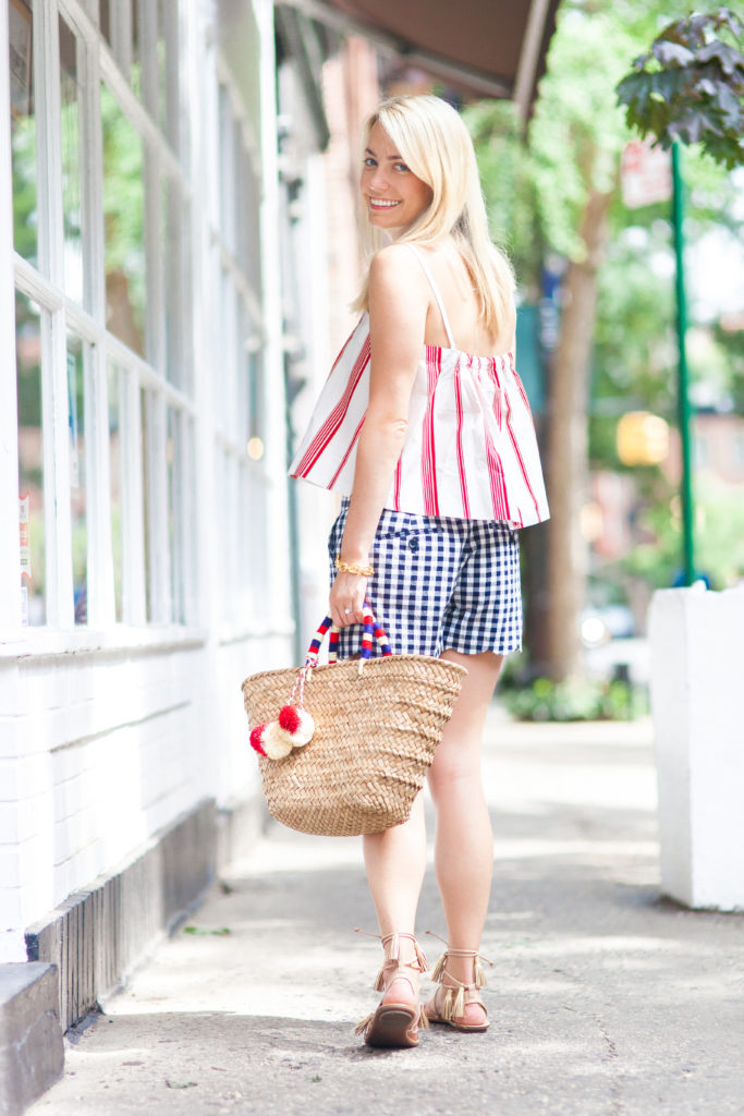 Red, White, and Blue Outfit for the Fourth of July