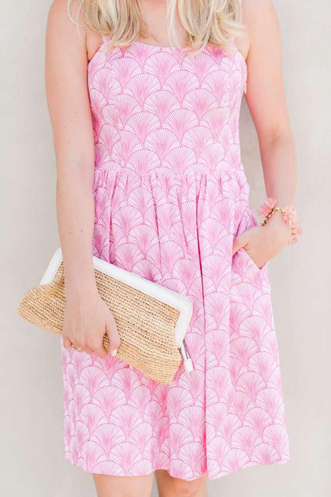 Elizabeth McKay Pink Shell Dress on Rhyme & Reason