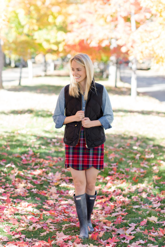Plaid Skirt in Boulder