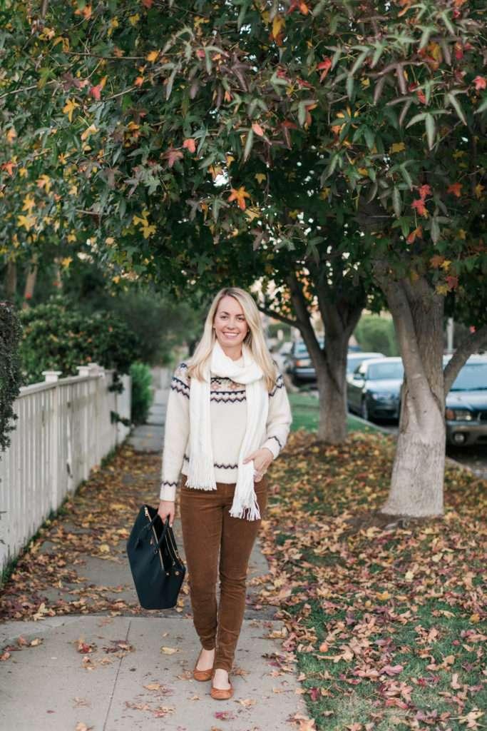 Fair Isle Sweater on Rhyme & Reason
