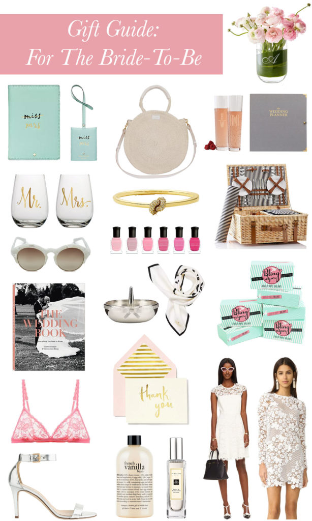 Gift Guide: For The Bride To Be