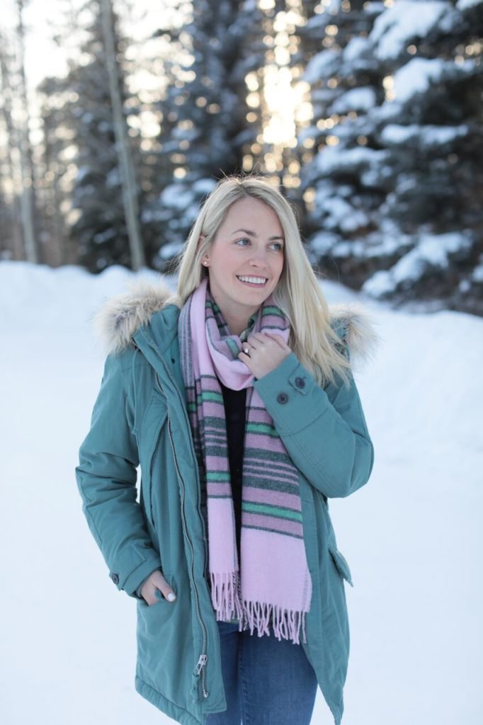 Pink and Green in Jackson Hole on Rhyme & Reason
