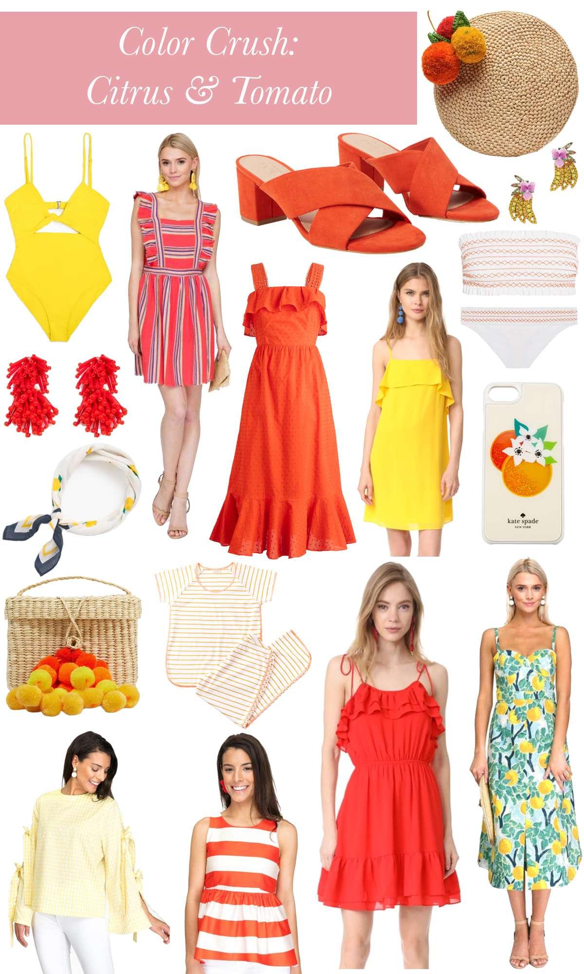 Color Crush: Citrus & Tomato on Rhyme & Reason