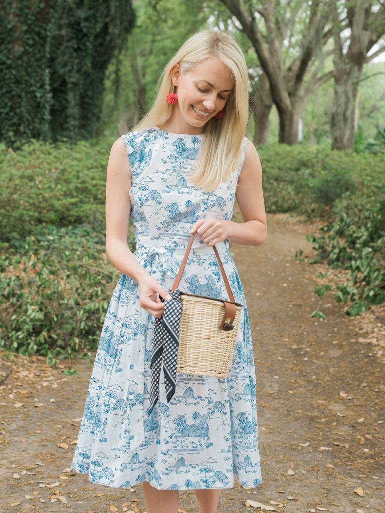Toile Dress in Hampton Park on Rhyme & Reason