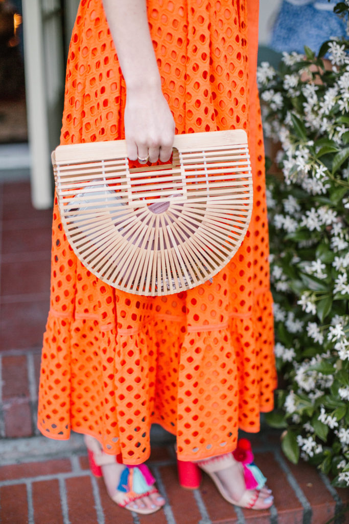 Sipping Spicy Margaritas in Tangerine and Cobalt on Rhyme & Reason