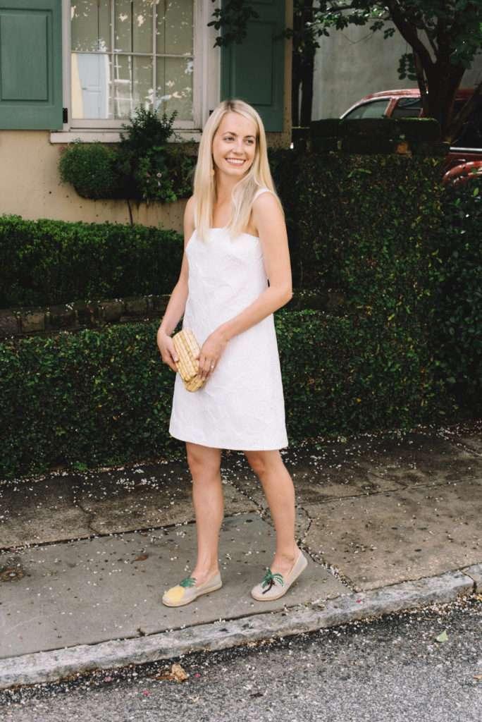 Little White Dress in Charleston in Rhyme & Reason