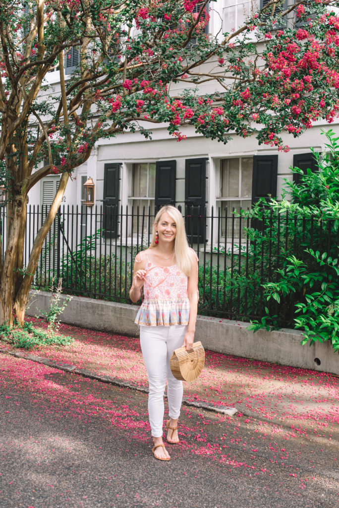Pops of Pink in Charleston on Rhyme & Reason