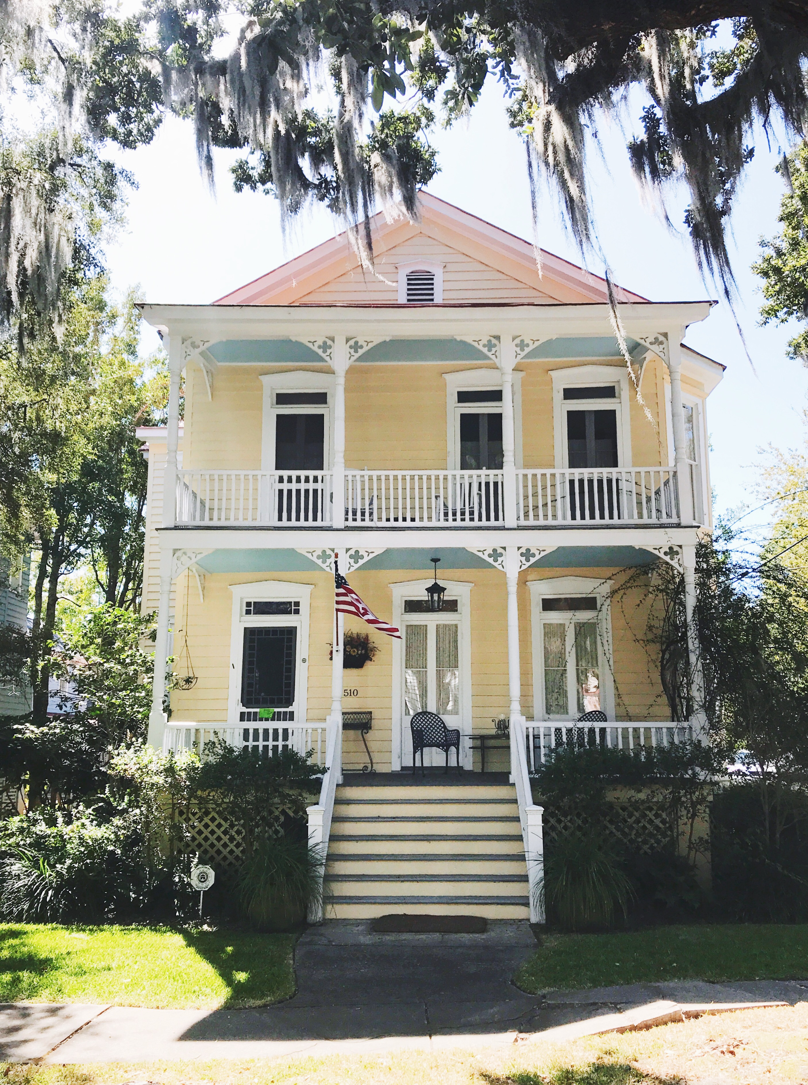 Beaufort Travel Guide, an Victorian home in the Historic District