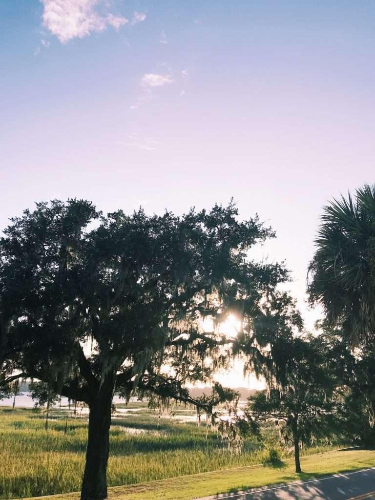 Sunset in Beaufort, South Carolina