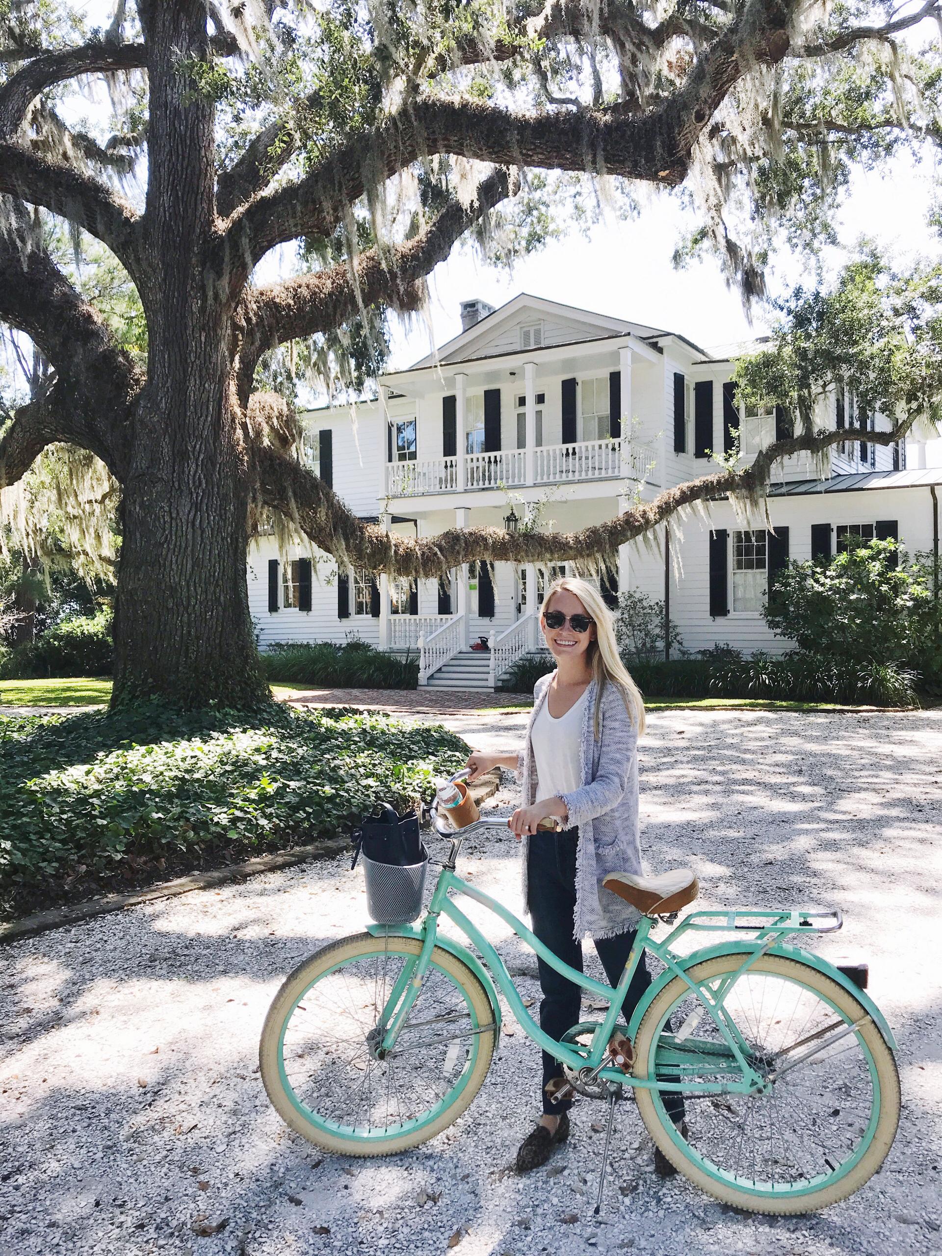 Bike Riding in Beaufort, South Carolina