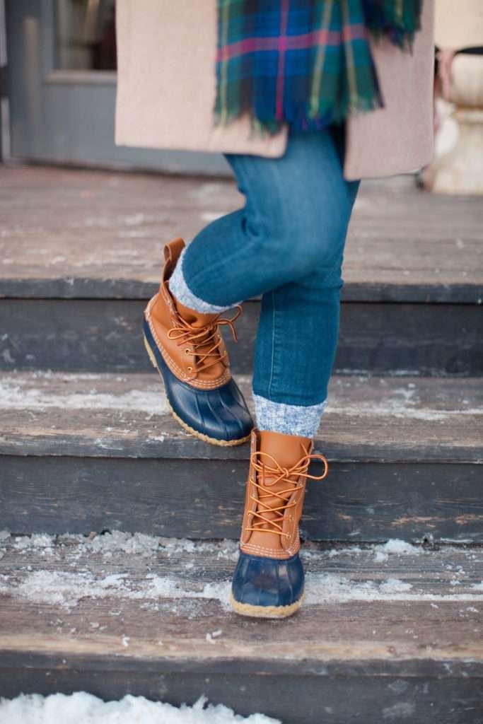 L.L. Bean Boots and Camp Socks