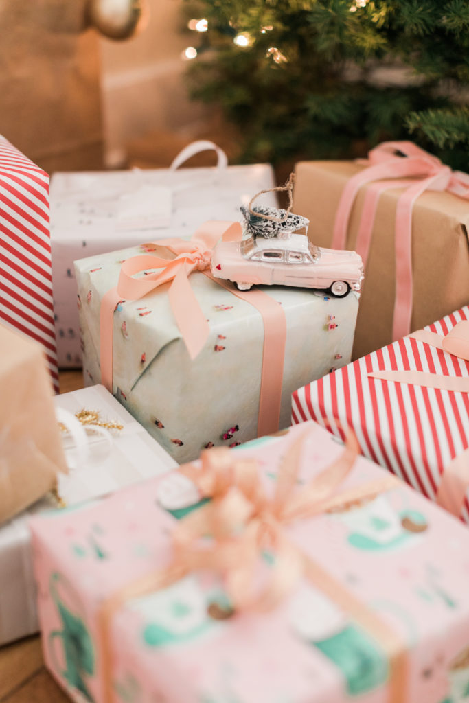 Wrapped Christmas Presents in a A Guide to Celebrating Christmas in Charleston