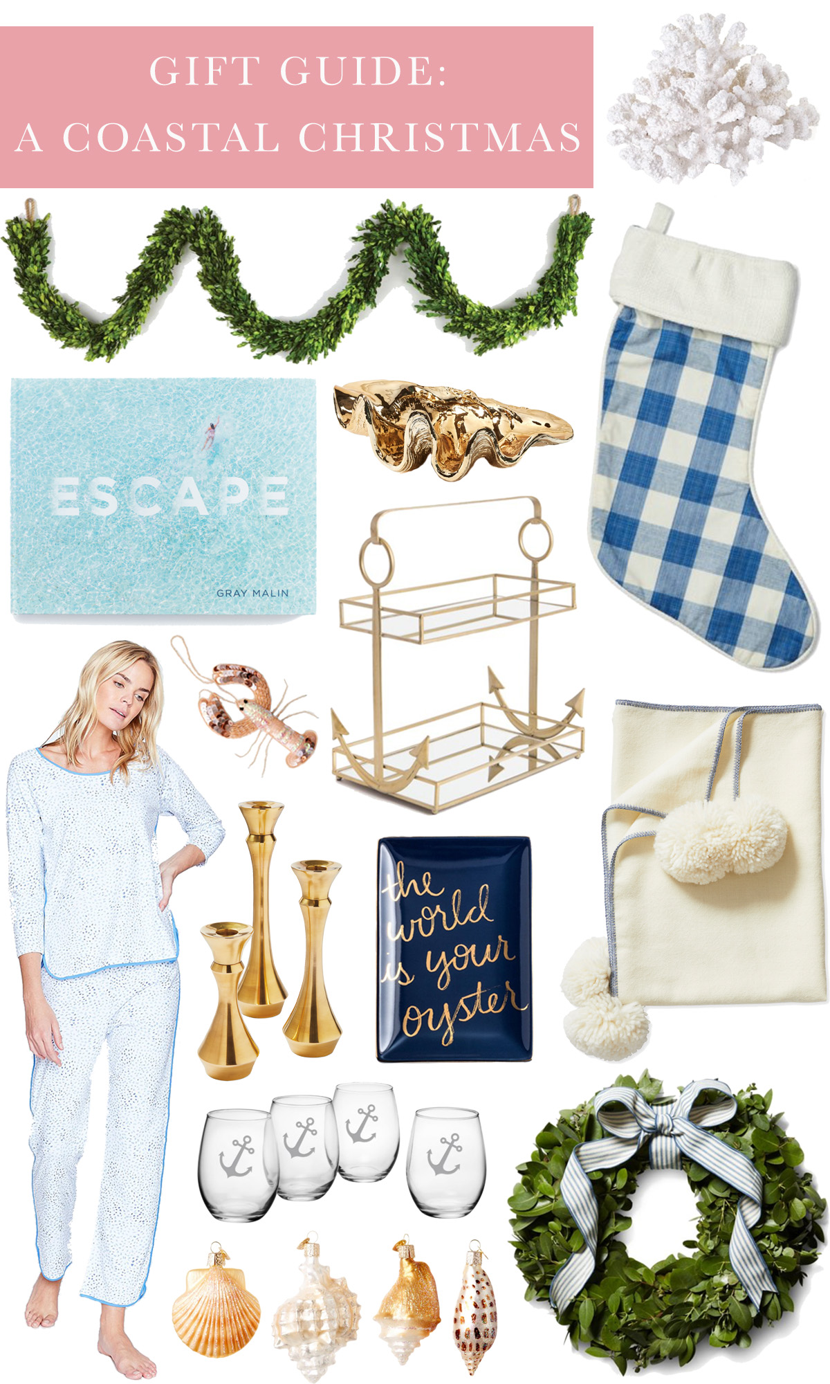 A Holiday Gift Guide: A Coastal Christmas roundup
