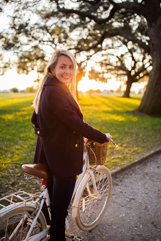 Sunset Bike Ride in Charleston // Rhyme & Reason