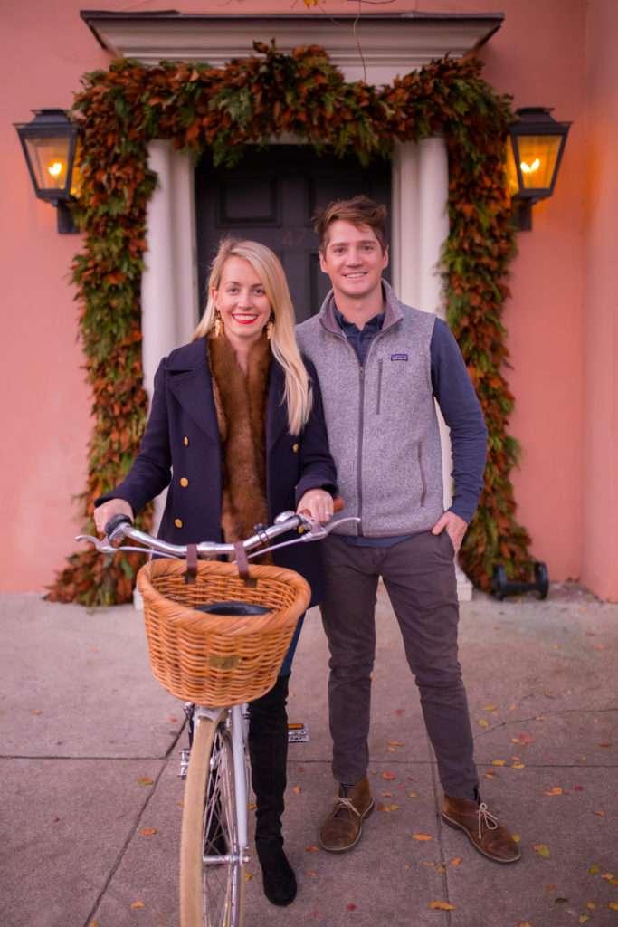 Christmas Bike Ride in Charleston // Rhyme & Reason