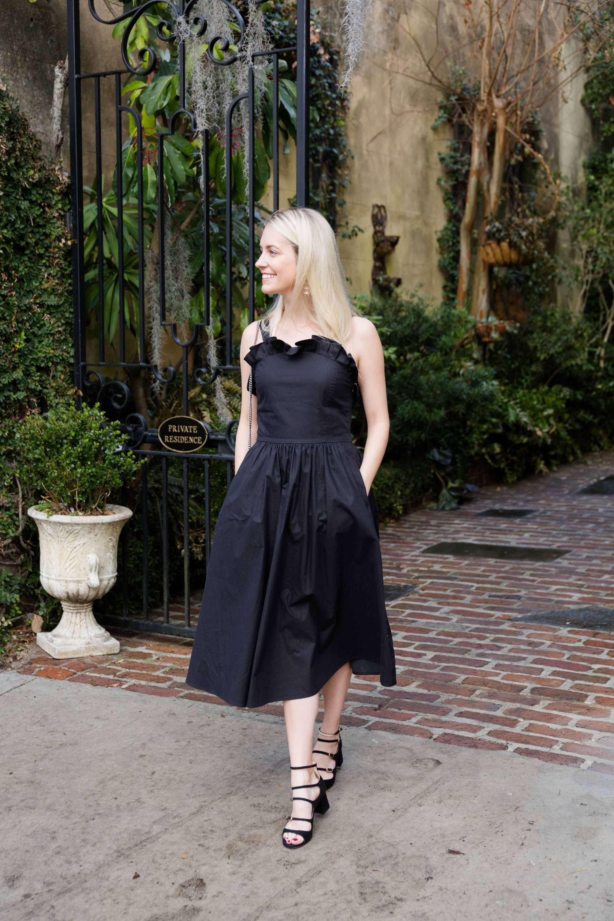 Little Black Dress in Charleston // Rhyme & Reason