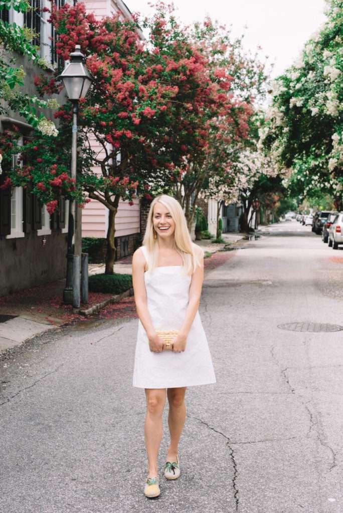 Little White Dress in Charleston // Rhyme & Reason