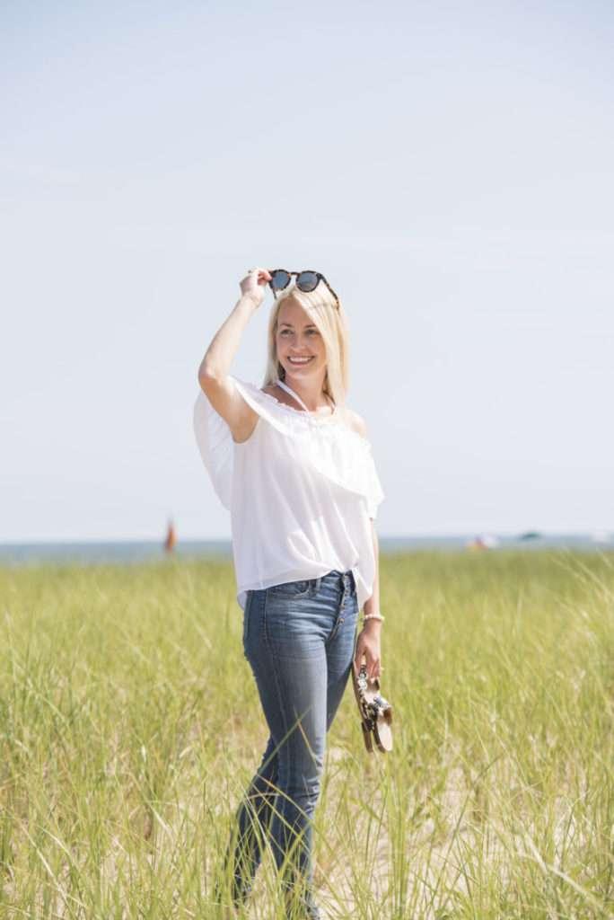 Nantucket Beach Day // Rhyme & Reason