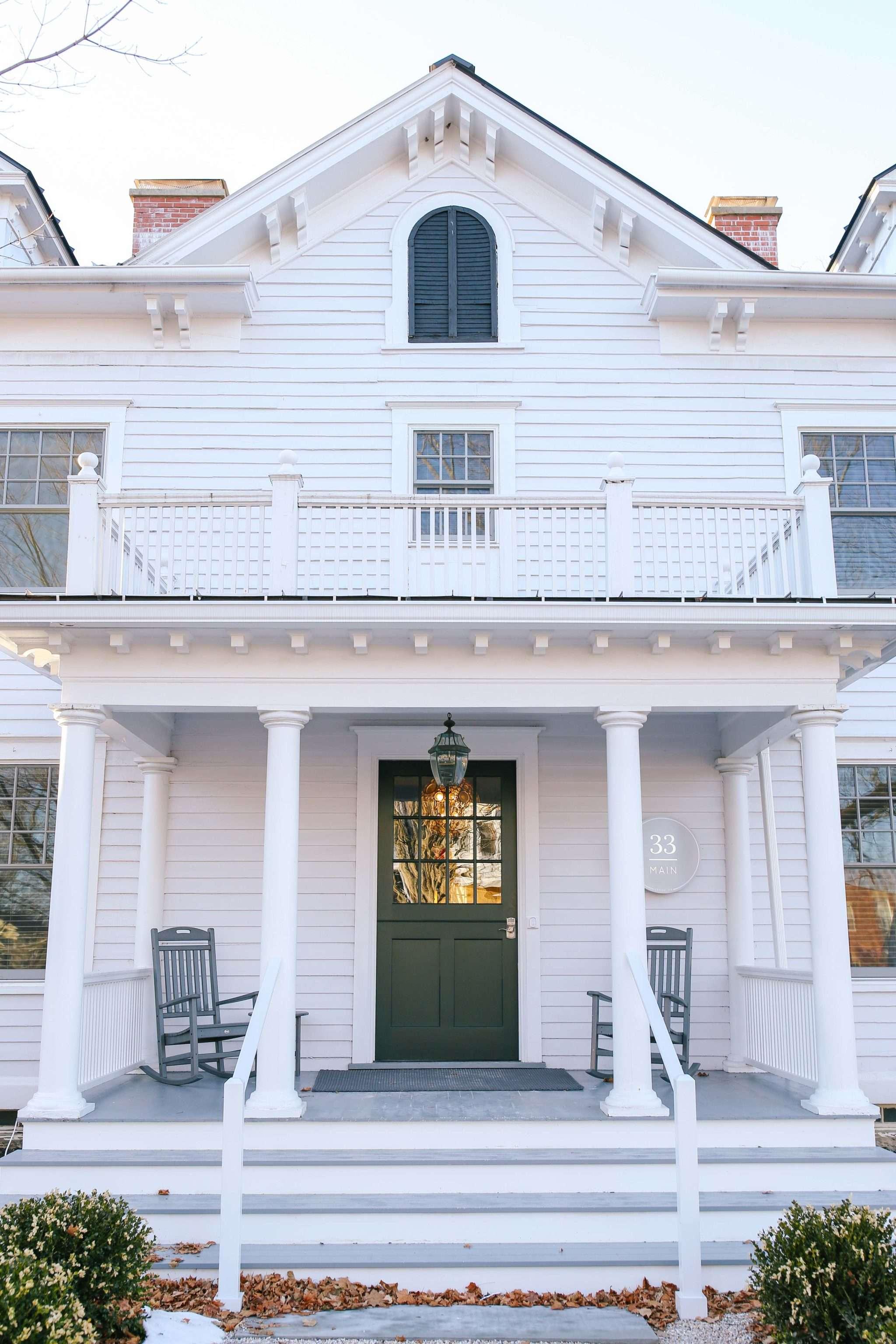 Luxury inn, 33 Main, by Annie Selke in the Berkshires