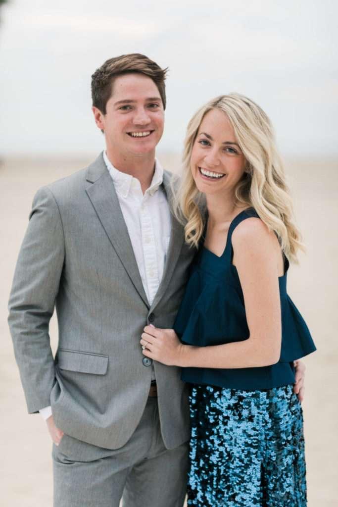 Wedding Wednesday: a Santa Monica Beach Engagement Party // Rhyme & Reason