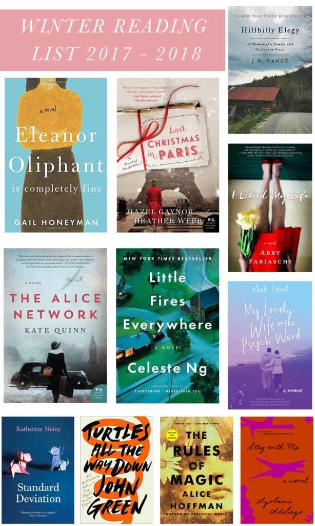 Winter Reading List 2017-2018 // Rhyme & Reason