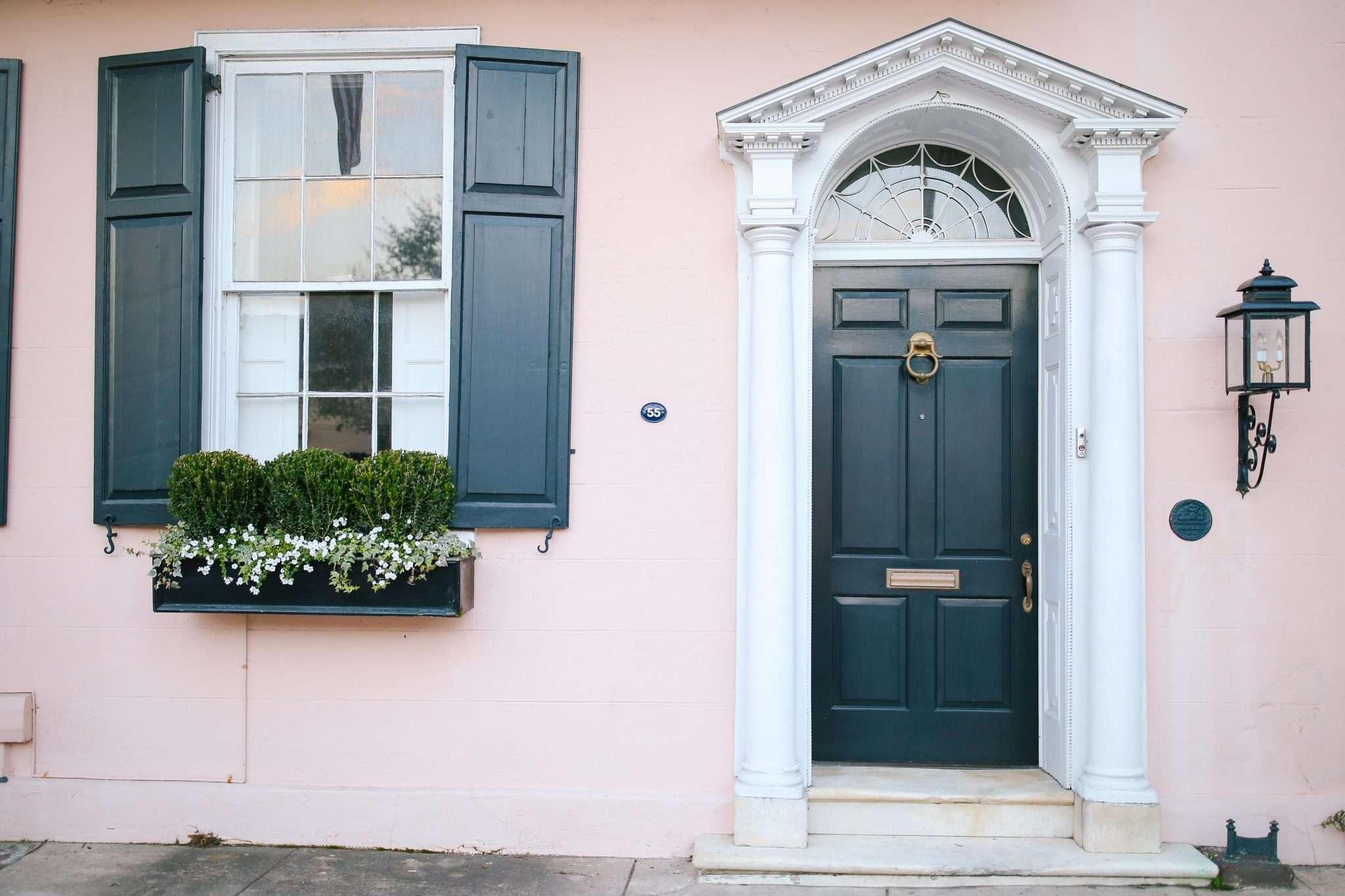 Pink Charleston House // Rhyme & Reason