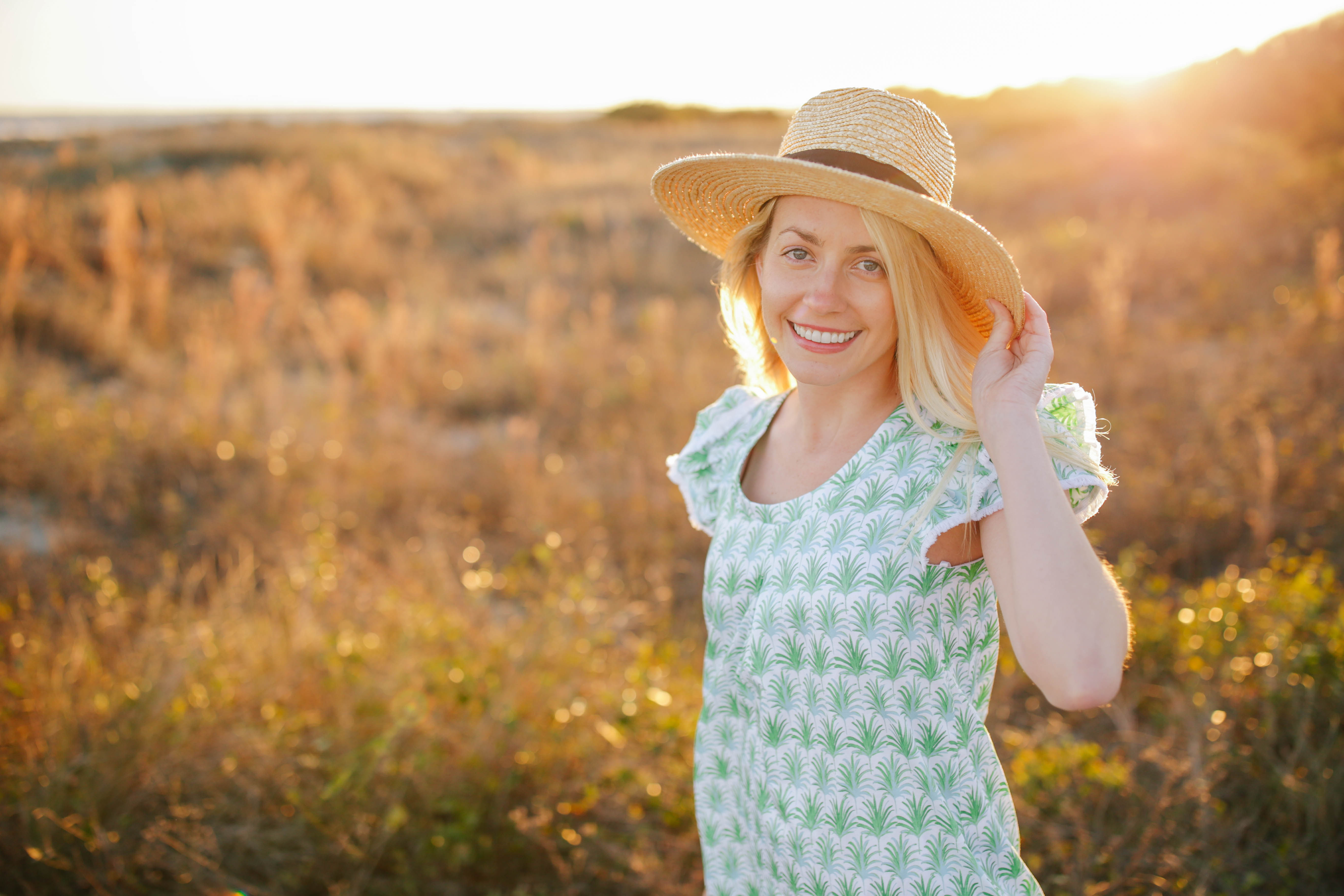 Tips for buying the right sun hat for you // Rhyme & Reason